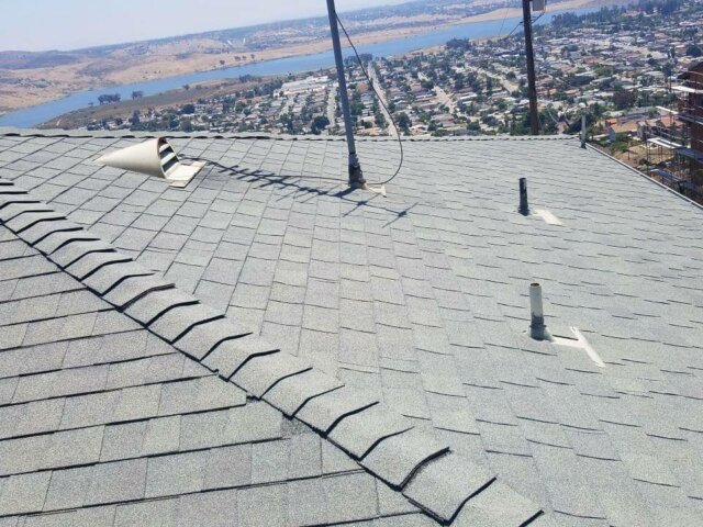 Broken roof tile repair orange county